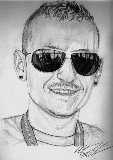 Chester Bennington by ninja_style